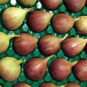 Figs preserved three differentways.