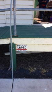 outside flood level