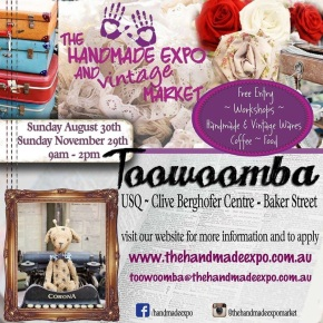 The Handmade Expo Market in Toowoomba