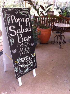 The Pop-Up Salad Bar