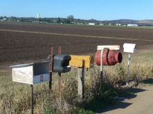 Country letter boxes