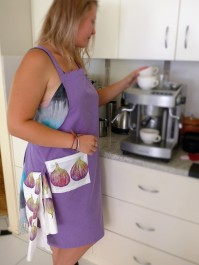 Fig apron with a fig tea towel!