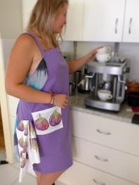 Fig apron with a fig tea towel!