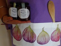 Fig apron with Fig Jam